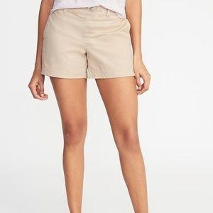 BRAND NEW khaki Old Navy cotton shorts size 10